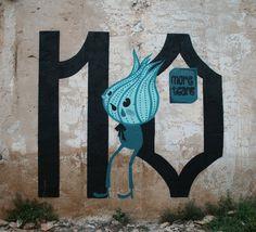 No more tears By Eme de M #street #Art #artist #mural #graffiti