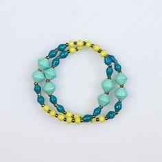Blue Tutti Frutti Bracelet by 31 Bits - SET & STYLE