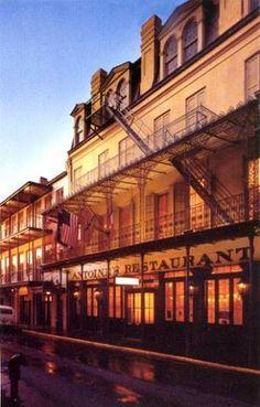 Antoine's Restaurant (French-Creole), 713 St. Louis St., New Orleans, LA