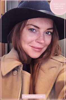 Lindsay Lohan wearing VANI-T Velocity Dark Solution 💕 Natural Tan, Natural Glow, Tan Removal, Mineral Cosmetics, Artists And Models, Lindsay Lohan, Moisturiser, Getting Old