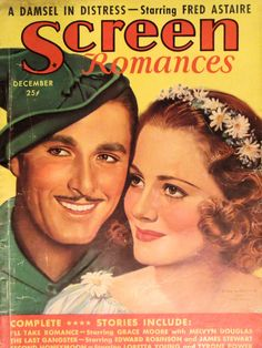 Error Flynn and Olivia de Havilland, Screen Romances