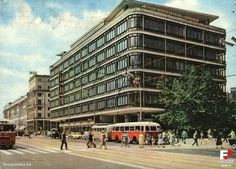 Warszawa - Centralny Dom Towarowy Amalfi Coast, Nostalgia, The Past, Multi Story Building, Public, Street View, Architecture, Dom Towarowy, Ghosts