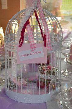Vogelkäfig Shabby-Chic , Hochzeit  von Majalino auf DaWanda.com