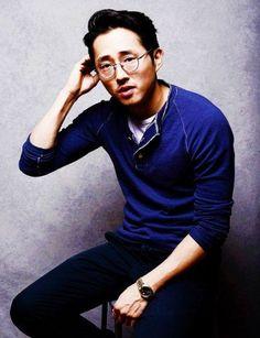 Steven Yeun prend la pause [Photo du jour]