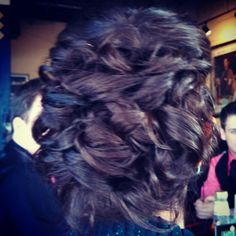 Prom updo . I love this hair style :)