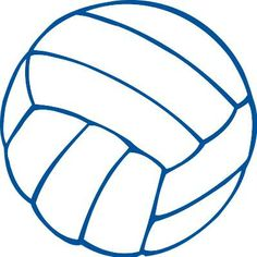 free printable volleyball clip art shape collage shapes rh pinterest com clipart volleyball pictures