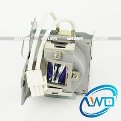 Awesome AWO Replacement Projector Lamp with Cage for BENQ Lampe Projectors