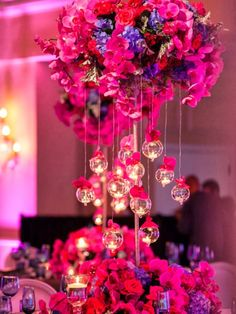 These are what I want hanging from the centerpieces