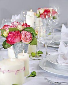 Table setting ...♥♥...  Ländlich edel - Ländlich und rustikal