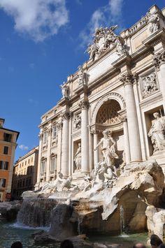 www.scuoladiviaggio.it Roma 2012 Fontana di Trevi
