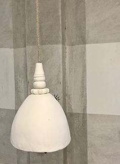 hellooow.co.za : our brand new handmade pendant lights with stacking bead detail up the cord, too gorgeous!