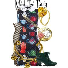 Inspired by the infamous Mad Tea Party that takes place during Alice in Wonderland.