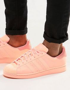 Image 1 of adidas Originals Superstar adicolor Sneakers In Orange S80330