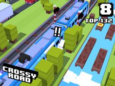 8 on #crossyroad. My top is 132.
