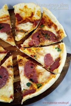 Błyskawiczna pizza w 15 minut / 15 Minute Pizza (recipe in Polish)