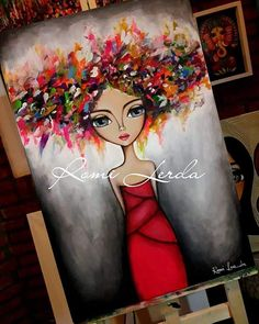 Painting Inspiration, Art Journal Inspiration, Frida Art, Pastel Art, Pretty Art, Whimsical Art, Art Plastique, Large Art, Rock Art