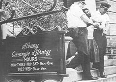 Arrested for trying to read a book in a segregated library, Albany, Georgia.