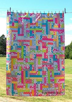 Scrappy Patches {Revised Pattern!} | Busy Hands Quilts | Bloglovin'