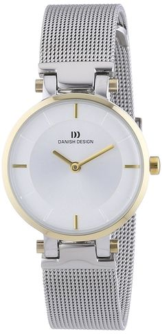 Danish Design - Orologio da polso, analogico al quarzo, acciaio INOX, Donna: Amazon.it: Orologi