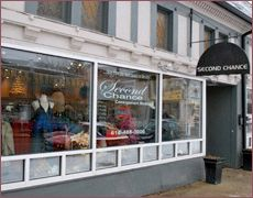 everything needs a second chance :)  Consignment Boutique in Grandview Ohio