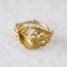 "I love how this ring embraces nature's ""flaws"" in such a beautiful way."