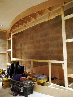 Home theater screen wall construction                                                                                                                                                                                 More