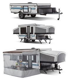 Pop Up Camper Trailer, Tent Trailers, Tiny Camper, Camping Packing, Van Camping, Casas Trailer, Coleman Pop Up Campers, Jayco Pop Up Campers, Popup Camper Remodel