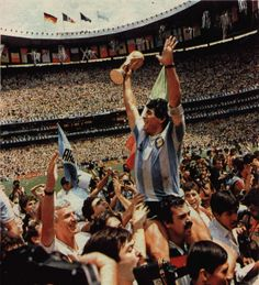Football,The real sport,Maradona regarded as the Greatest player of all time!in FIFA ranking!Simply the greastest Football Icon, Football Soccer, Mexico 86, Diego Armando, World Cup Champions, Football Wallpaper, Sport Man, Fifa World Cup, Lionel Messi