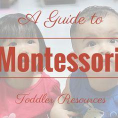Montessori Nature: 20+ DIY Montessori Inspired Activities for 2 and 3 year olds.