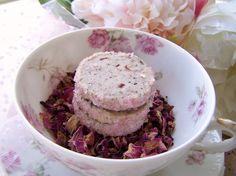hibiscus rose tea cookies. yum!