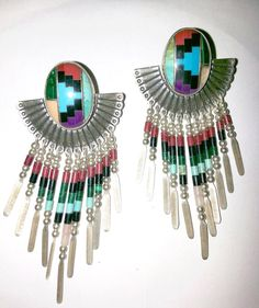 Navajo Native American QT Sterling Silver by DLSpecialties on Etsy, $96.00