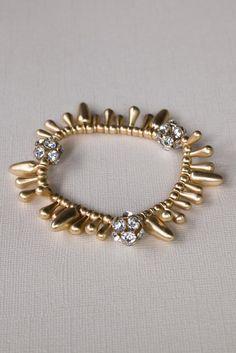 Dangle Around Stretch Bracelet $18