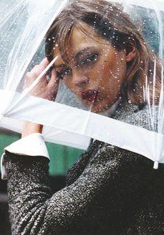 Elise Crombez by Mikael Jansson | Vogue Paris September 2003