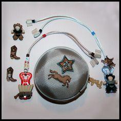 Cowboy personalised deaf children's hearing package
