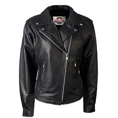 VikingCycle Cruise Motorcycle Jacket for Women (L)