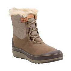 Women's Clarks Muckers Mist Low Waterproof Boot Dark Cow /Textile  #midcalfboots