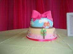 17 increíbles pasteles para baby shower de niña | Blog de BabyCenter por @Erika Cebreros