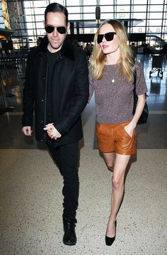 Kate Bosworth, airport chic. Geez