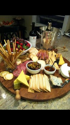 Cheese Platter - this looks practically perfect!