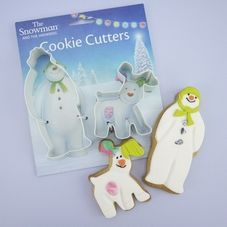 The Snowman & The Snowdog Cookie Cutters
