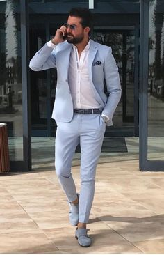 Blazer Azul Claro Camisa Blanca Zapatos Negros - Get your new Accessorie NOW with a 25% Discount code