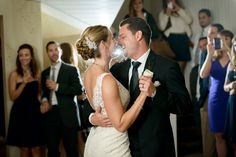 Bride & Groom on the dance floor at The Perry House, Monterey, CA, https://eventsbyclassic.com