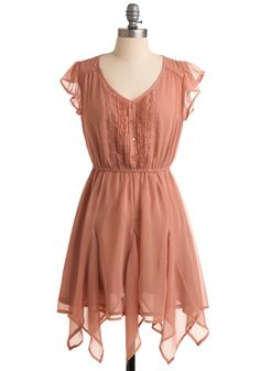 Chiffon Cloud 9 Dress. I dig the asymmetrical hemline. It looks so pretty and girly.