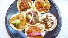 A little bit of everything with the sampler plate at Guisados. Phtoto Credit: Tien Nguyen.