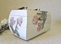 Vintage Decoupage Box Purse by FineRomance on Etsy, $42.00