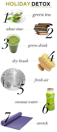 Simple Holiday Detox | 9 Easy & Healthy Post Holiday Detox You Can Do by Makeup Tutorials at http://makeuptutorials.com/9-easy-healthy-post-holiday-detox-can-makeup-tutorials/