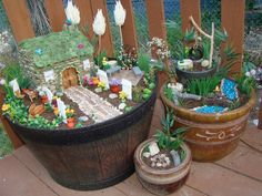 How to Make a Fairy Garden - Goes through step by step instructions on how to make your own house.