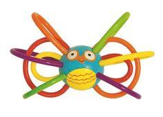 Manhattan Toy Zoo Winkel Owl Rattle and Sensory Teether Manhattan Toy http://www.amazon.com/dp/B00BR3EMSA/ref=cm_sw_r_pi_dp_Cme2vb0SC36Y7
