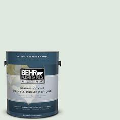 BEHR Premium Plus Ultra 1-gal. #460E-1 Meadow Light Satin Enamel Interior Paint