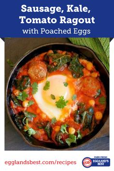 A twist on an Italian favorite that your family will be sure to love. #Italian #EgglandsBest